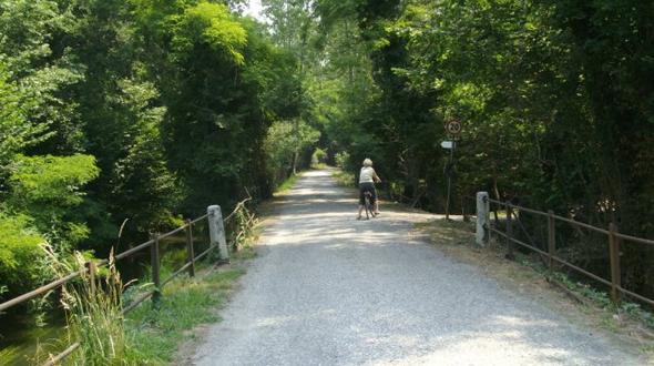 Cycling around Galliate